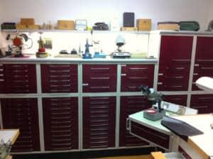 Laboratorio Riparazione orologi a Vicenza Orologerie Palladio