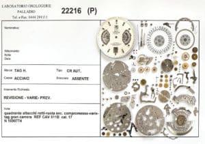 Riparazione orologi Laboratorio Orologerie Palladio