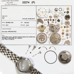 Riparazione orologi Orologerie Palladio
