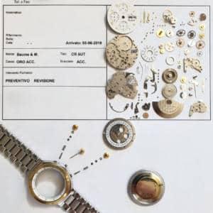 VICENZA Riparazione orologi Orologerie Palladio